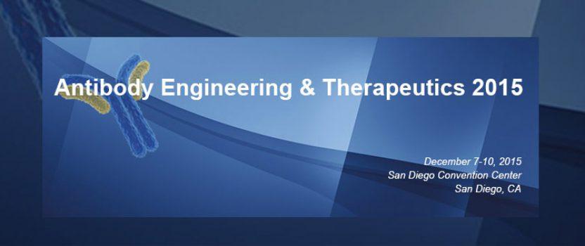 睿智化学将参加2015年IBC抗体工程及疗法会议