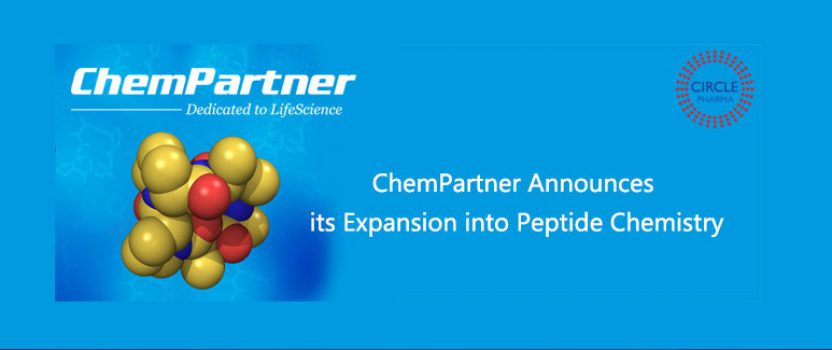 ChemPartner Announces its Expansion into Peptide Chemistry
