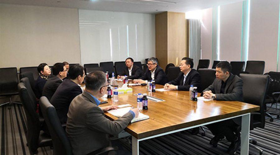 广州开发区生物医药园区项目组到上海睿智调研